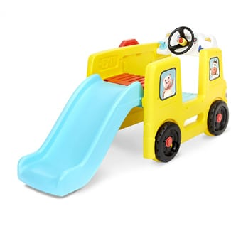 Little Tikes Bus Climber and Slide with Interactive Musical Dashboard