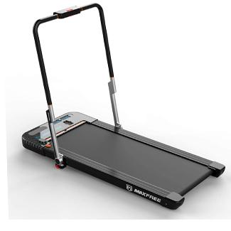 MAXFREE Folding Treadmill 2-in-1