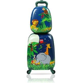 Sandinrayli 2 Pcs Kid Luggage Set