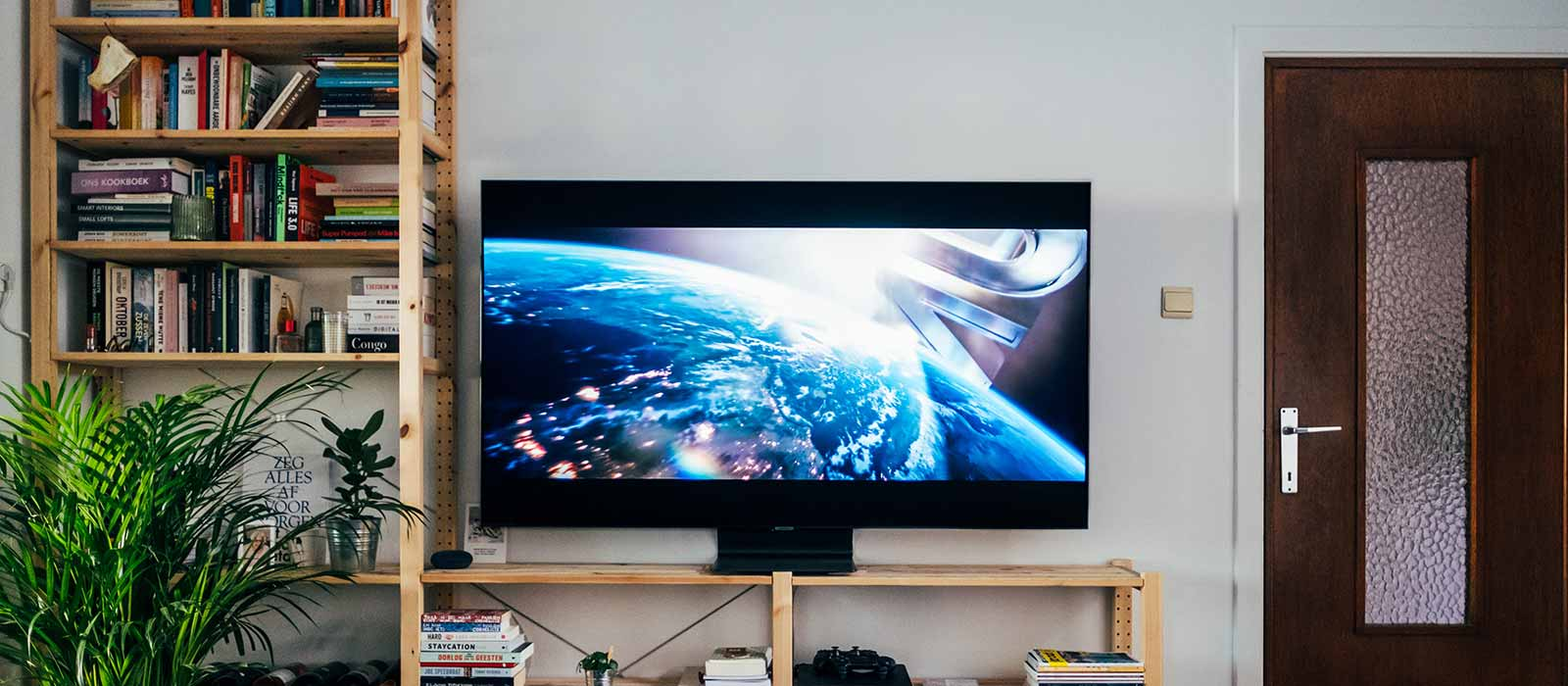 Smart TV in an apartment