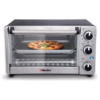 Mueller 4-Slice Toaster Oven