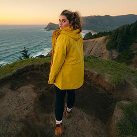 Women walking the west coast trail