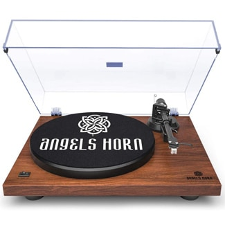 ANGELS HORN Vinyl Turntable Record Player