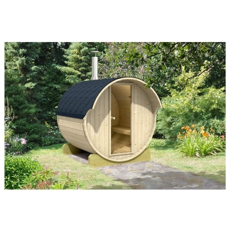 Allwood 4-Person Outdoor Dry or Steam Sauna