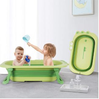 Foldable Toddler Bathtub (Multiple Colors)