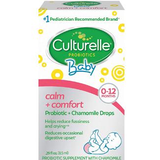 Culturelle Calm + Comfort Probiotic Chamomile Drops