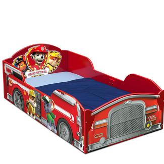 PAW PATROL Delta Childrens Wood Toddler Bed