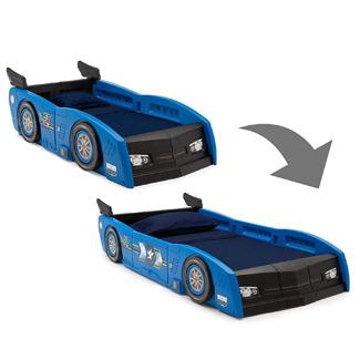 Delta Children Race Car Toddler & Twin Bed