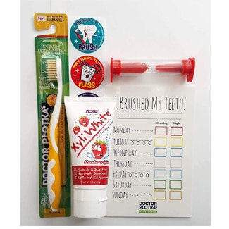 Doctor Plotka's Mouthwatchers Antimicrobial Toothbrush