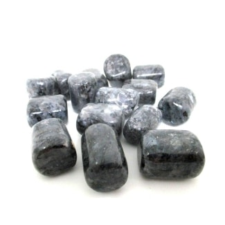 Energized Larvikite Tumbled Stone
