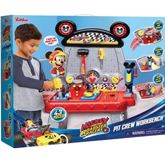 """Mickey Mouse """"The Roadster Racers"""" Pit Crew Workbench"""