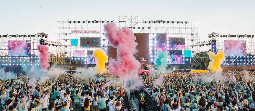 Music festival in Vietnam