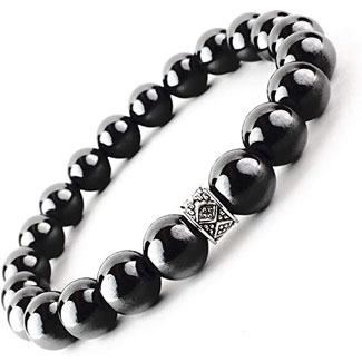 One Ion Authentic Black Tourmaline Bracelet