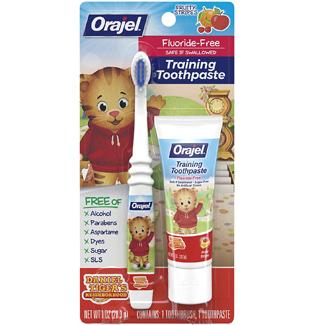 Orajel Daniel Tiger Toothbrush Set