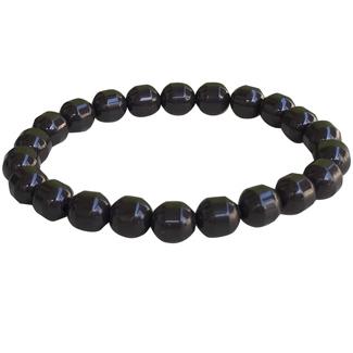 Power Ionics Health Tourmaline Beads Stretch Bracelet