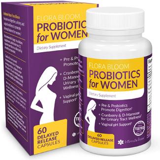 Flora Bloom Probiotics for Women