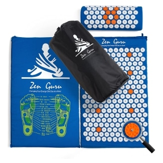 ZenGuru Acupressure Mat & Pillow Set