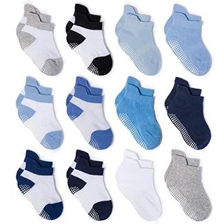 Zaples Baby Non-slip Grip Socks (Multiple Colors)