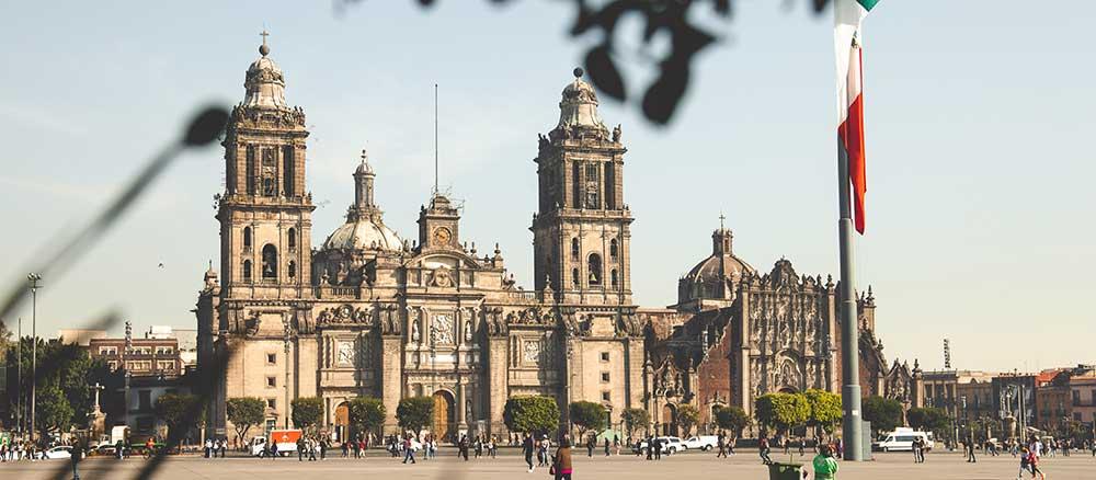 Mexico City famous landmark