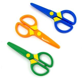 JIALEEY Plastic Child-Safe Scissor Set