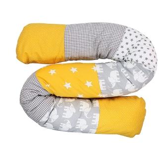 Snake Pillow Bumper by ULLENBOOM
