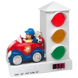 Stoplight Sleep Enhancing Alarm Clock for Kids