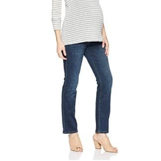 Hybrid & Company Super Comfy Stretch Women's Maternity Bootcut Jeans