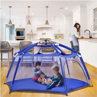 Alvantor Playpen Play Yard Space Canopy Fence