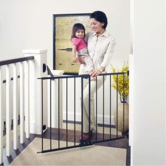 Toddleroo by North States Wide, Easy Swing, and Lock Baby Gate
