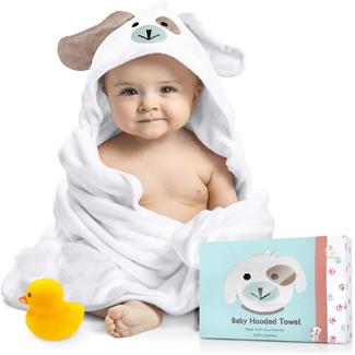 FOREVERPURE Baby Hooded Towel