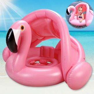 Baby Pool Swim Float with Sun Canopy