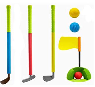 Foam golf clubs