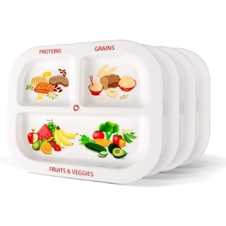 Health Beet Portion Plate for Kids