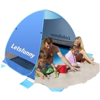 LetsFunny Large Pop up Beach Tent
