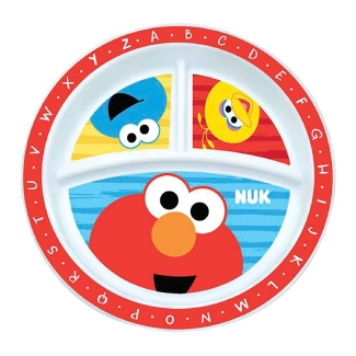 UK Sesame Street Plate (Single plate)