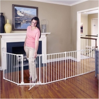 Toddleroo By North States Extra Wide Baby Gate