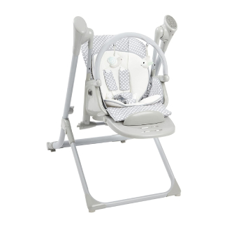 Primo 2-in-1 Smart Voyager Convertible Infant Swing and High Chair