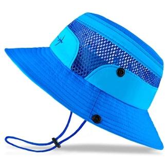 Baby Sun Hat Toddler Sun Hat Kids Breathable Bucket Sun Protection Hat