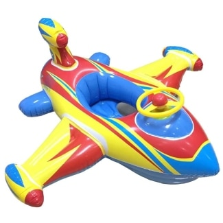 Topwon Inflatable Airplane Swimming Float