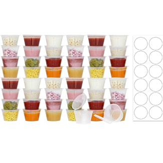 50 Pack BPA-Free Disposable Baby Food Freezer Storage Containers