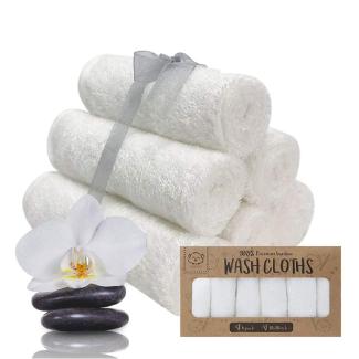 KeaBabies Premium Bamboo Washcloths