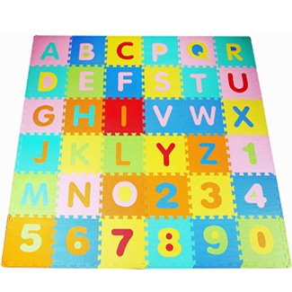 BalanceFrom Kids Puzzle Exercise Play Mat