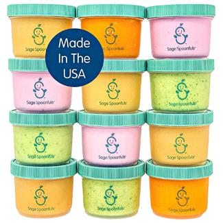 Sage Spoonfuls Big Batch Baby Food Storage