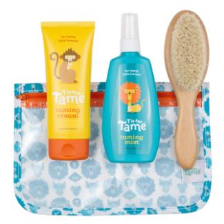 T is for Tame   Hair Taming Spray, Cream, & Brush Kit