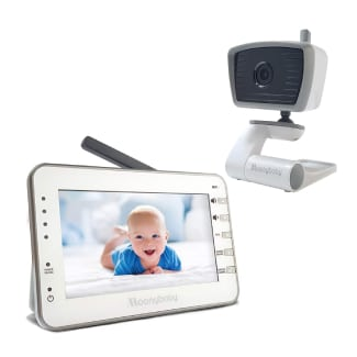 Moonybaby Trust 30-2 Non-WiFi Baby Monitor with 2 Cameras for 2 Rooms