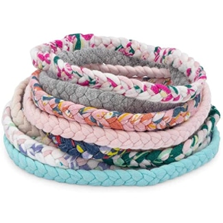 Parker Baby Girl Braided Headbands, Assorted 10 Pack