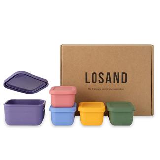 LOSAND Platinum Silicone Baby Food Storage