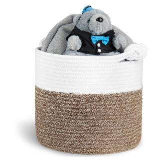 Polarduck Cotton Rope Baby Laundry Basket