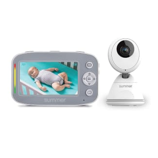 Summer Baby Pixel Cadet Video Baby Monitor with 4.3-Inch Color Display, Remote Steering Camera