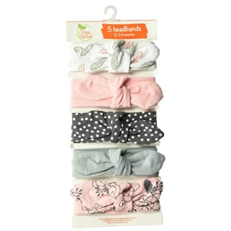 Yoga Sprout Baby Girls' Cotton Headbands